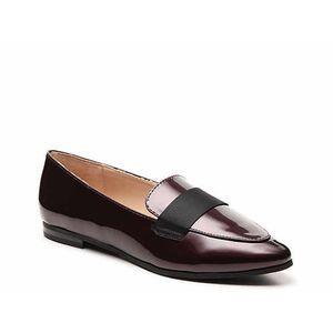 Kelly & Katie Patent Dotty Flat Loafer Shoe 9.5